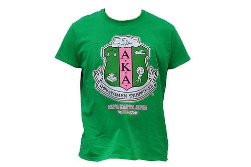 Alpha Kappa Alpha Tee Green