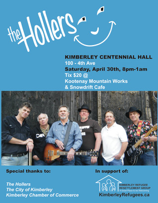 The Hollers playing at Centennial Hall!
