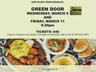 Middle Eastern Dinner - Fundraiser