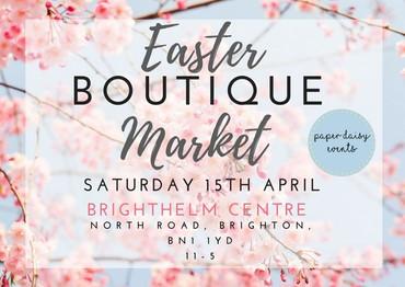 Easter Boutique Market Brighton