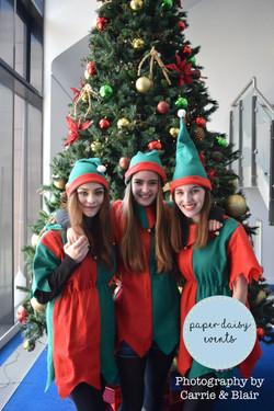 Our lovely promo elfs