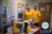 Paper Daisy raising money for Chesnut Tree House at Christmas craft fair in Shoreham