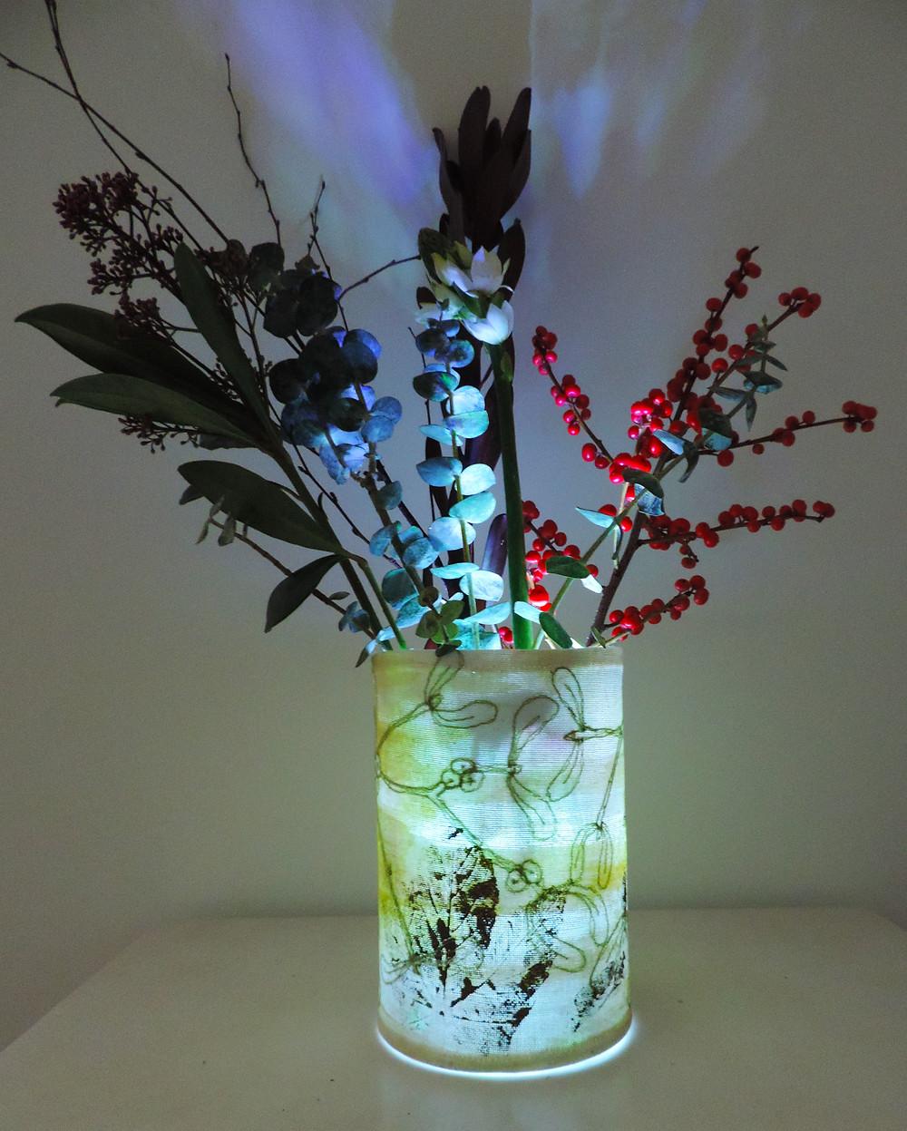 freyelli mistleto vase lantern brighton market paper daisy events