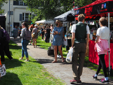 What will you find at our Street Food & Makers Market - Sat 11th September