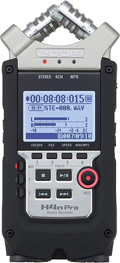 Zoom H4N External Recorder