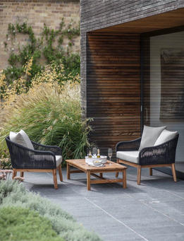 LUCCOMBE ARMCHAIRS SET
