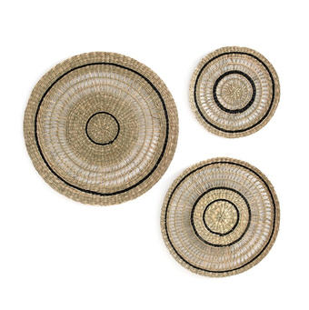 WALL DECORATIONS SET OF 3