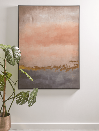 SUNSET ABSTRACT CANVAS