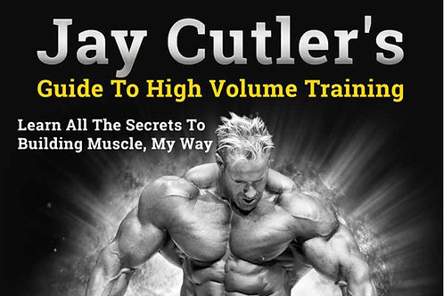 Jay Cutler's Guide to High Volume Training
