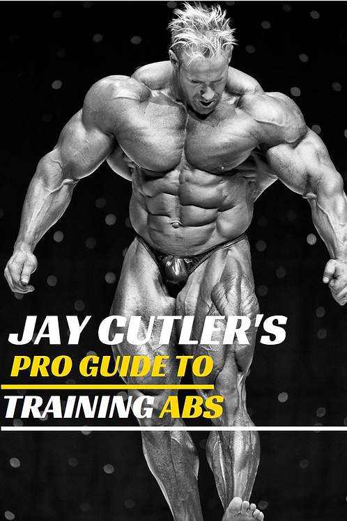 Jay Cutler's Pro Guide to Training Abs