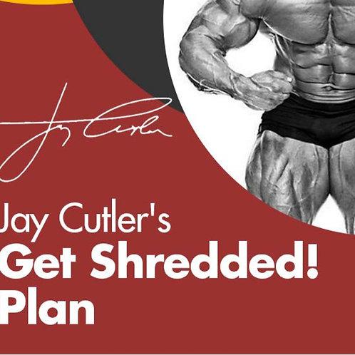 Jay Cutler's Get Shredded Plan