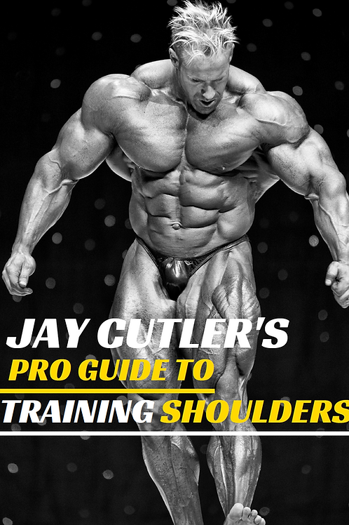 Jay Cutler's Pro Guide to Training Shoulders
