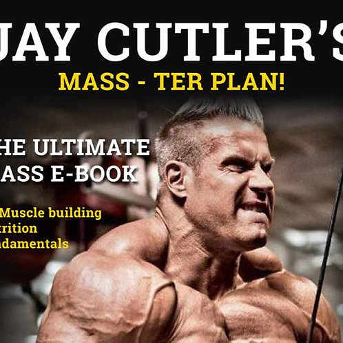 Jay Cutler's Mass-Ter Plan!