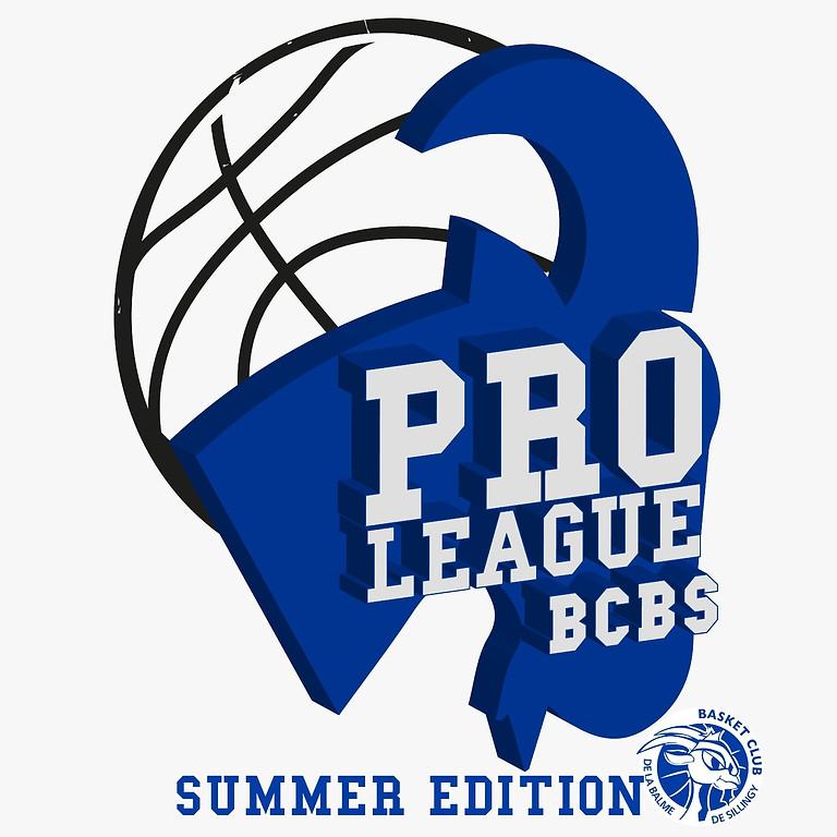 PRO LEAGUE BCBS - Summer Edition - Categories U11 et U13