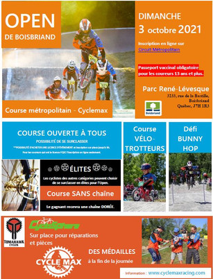 Open de Boisbriand 2021
