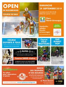Course Open de BMX Boisbriand