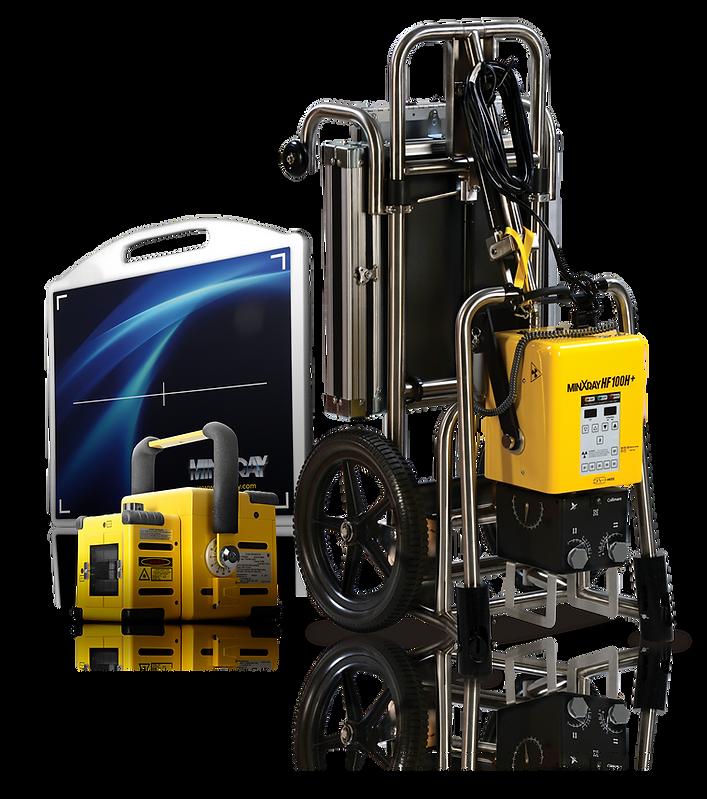 MinXray Enduras Digital System and HF100H+ Generator