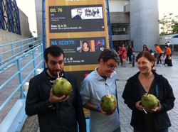 Kiko Dinucci, Mauricio Pereira e Ná