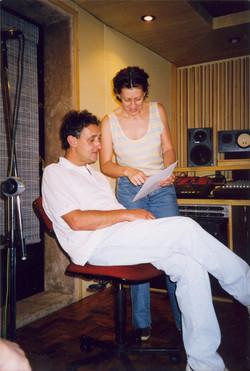 Gravacao Estopim - Estudio Zabumba - Dezembro 1998