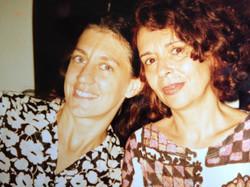 Ná e Alice Ruiz 1995