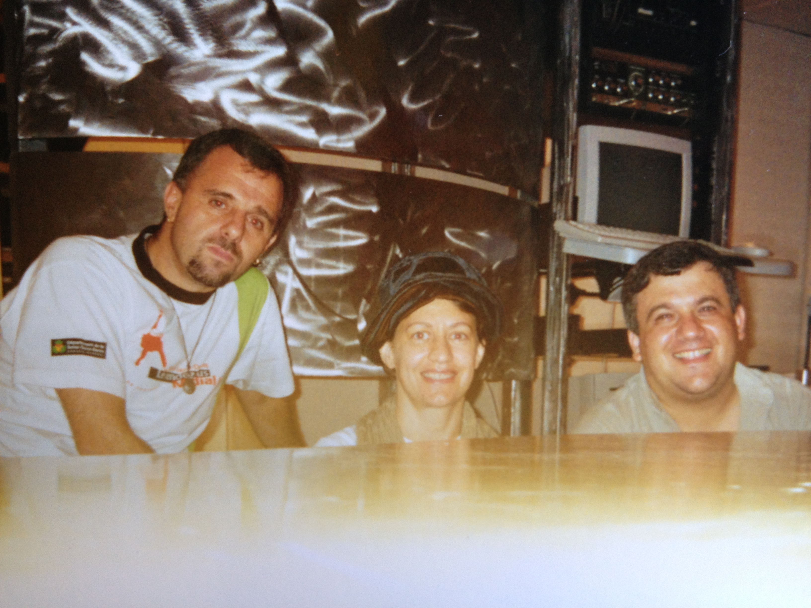 Swami Jr, Ná e Renato Leite