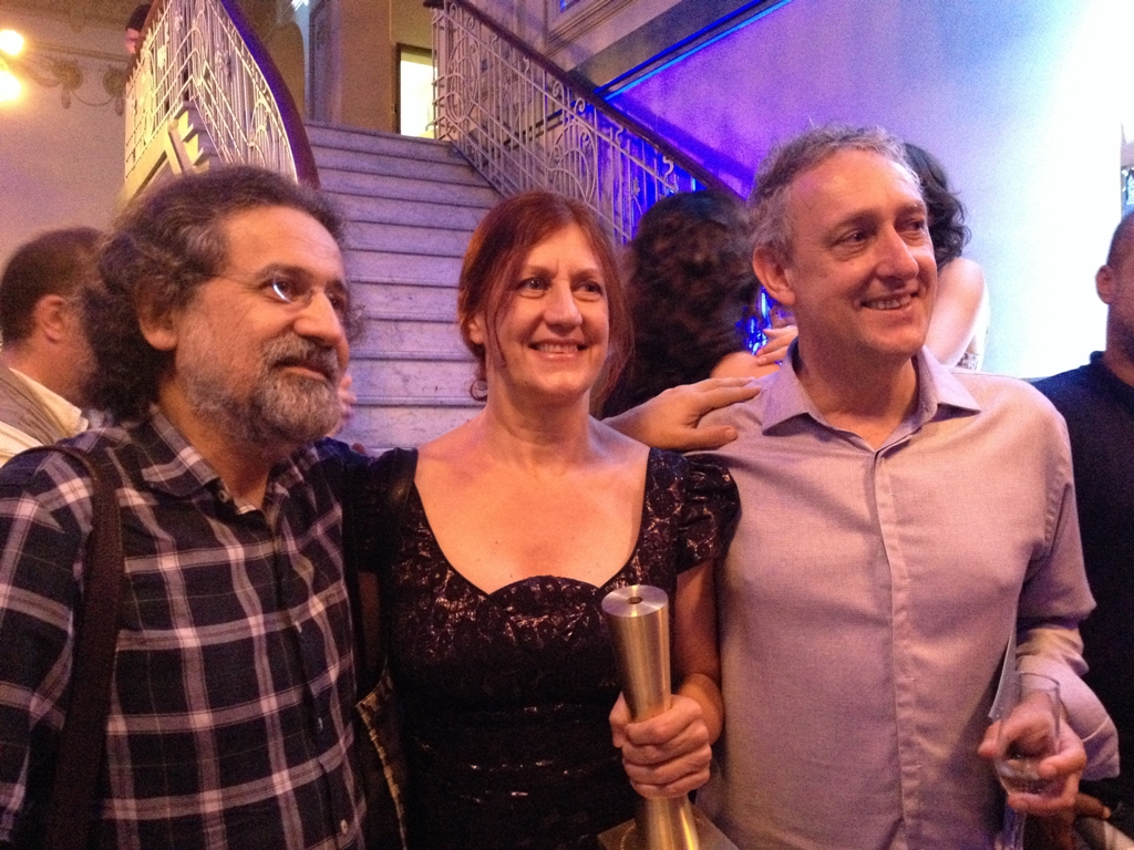 com Luiz Tatit e Dante Ozzetti