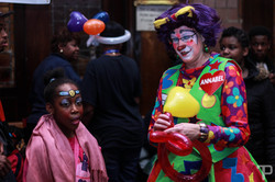 Ananbelle the clown at carnival