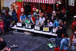 Car racing at the carnival
