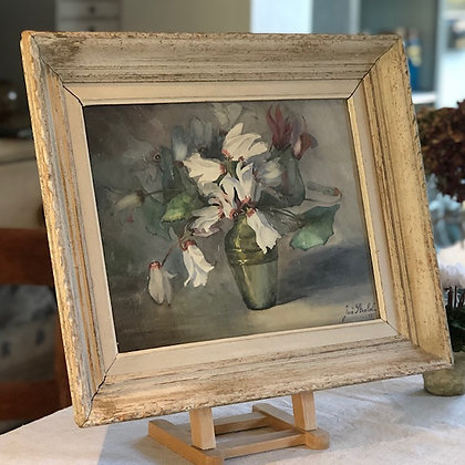 Antique Watercolour Cyclamen