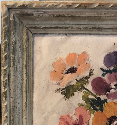 Pansies Oil Painting