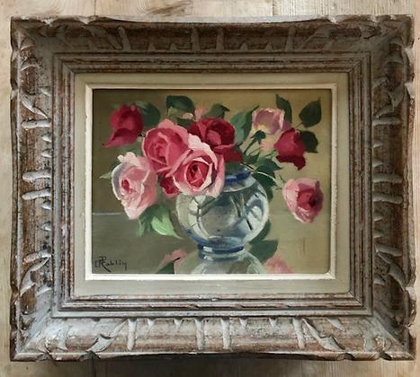 Pretty Framed Pink Roses