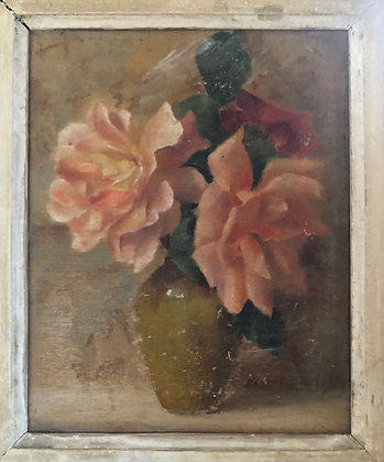 Faded Roses Painting