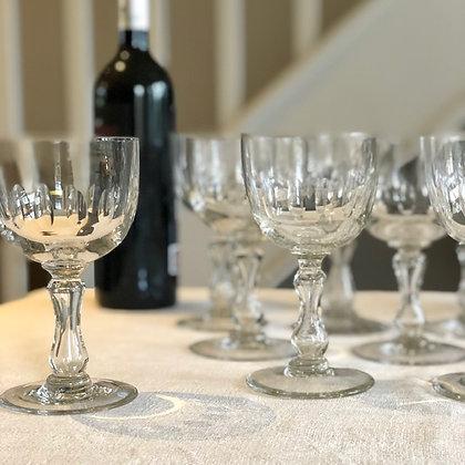 Antique Wine Glasses