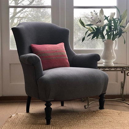 Upholstered French Chair