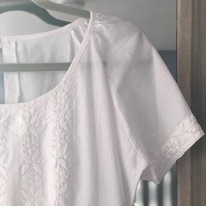 Pretty Cap Sleeve Cotton Nightie