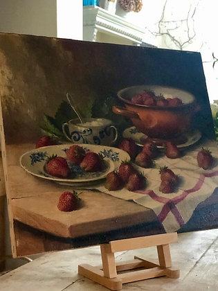 Still Life Strawberries