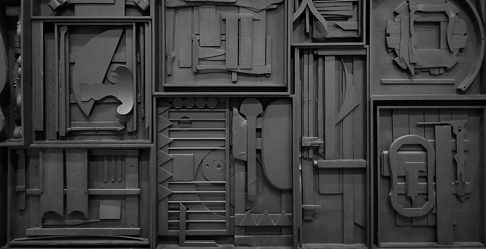 art by Louise Nevelson The Fogg Museum