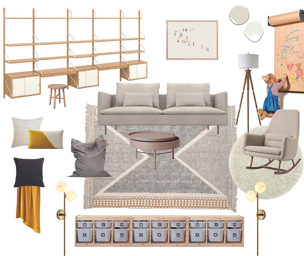 Detailed room design