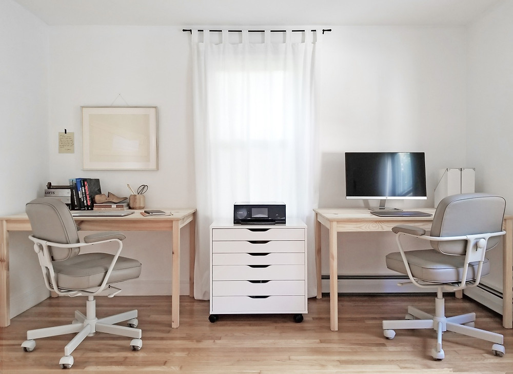 an affordable home office