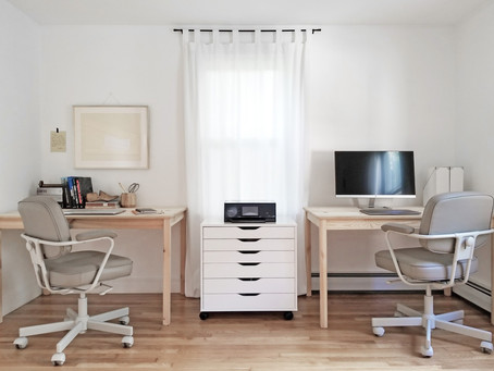 A SIMPLE, AFFORDABLE HOME OFFICE