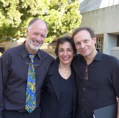 Conductors Robert Geary, Iris Levine, and Martín Benvenuto