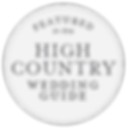 Featured in the High Country Wedding Guide