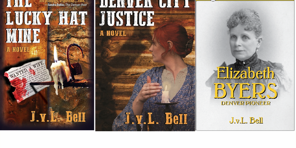 J.v.L. Bell - The Lucky Hat Mine and Denver City Justice