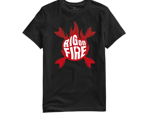 Camiseta - Rig on Fire