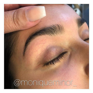 My client came in to get her brows prom ready. Book your appointment online today at moniqueminor.jpg