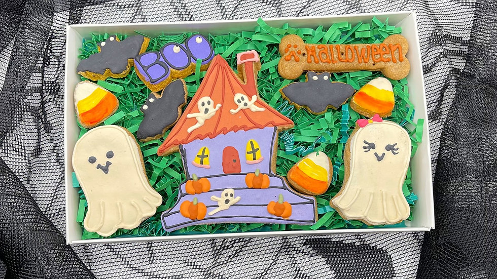 Halloween Deluxe Dog Gift Box