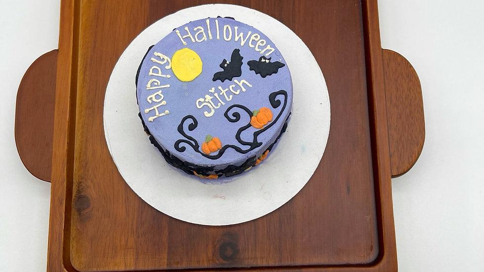 Halloween Horror Dog Cake