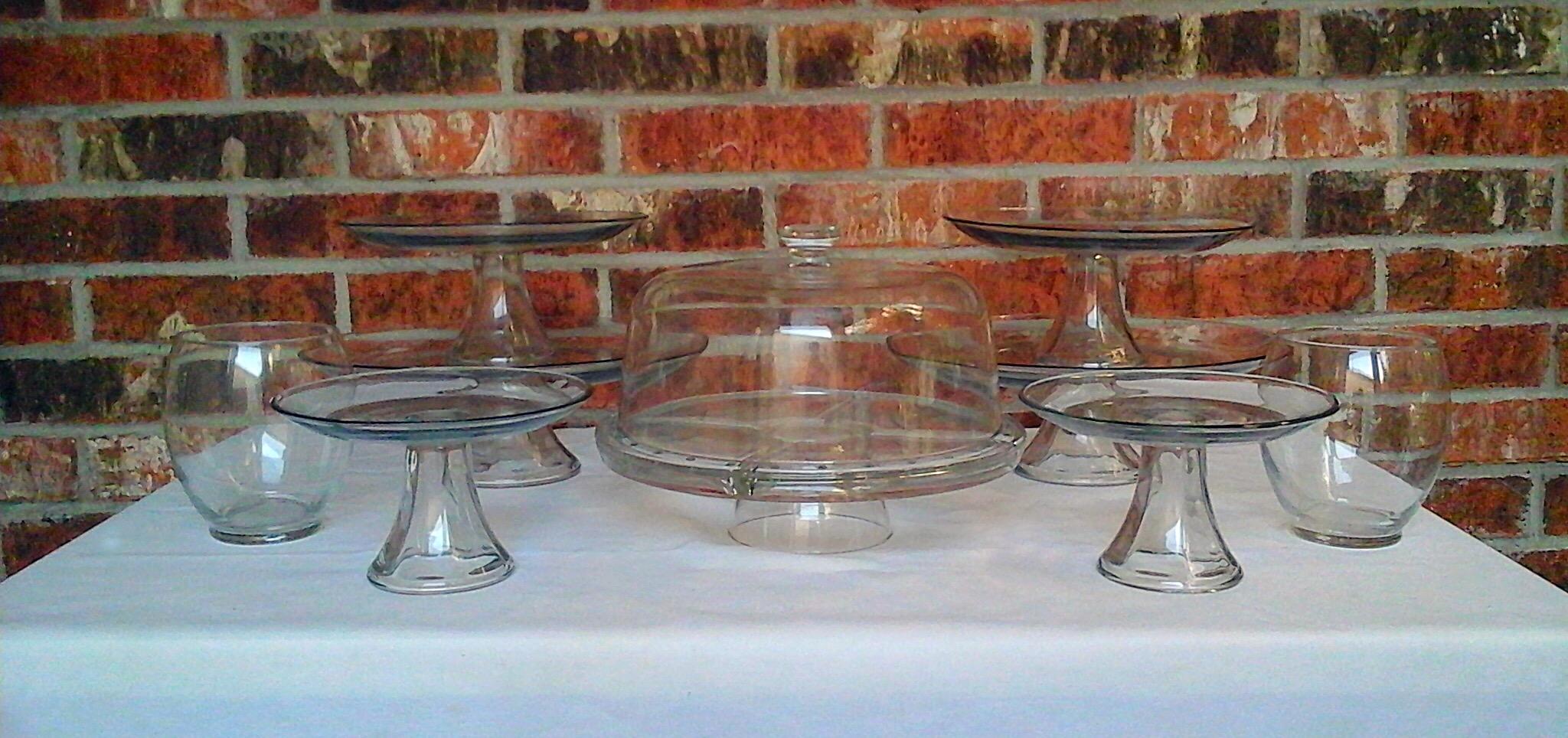 Basic Glass Dessert Stands