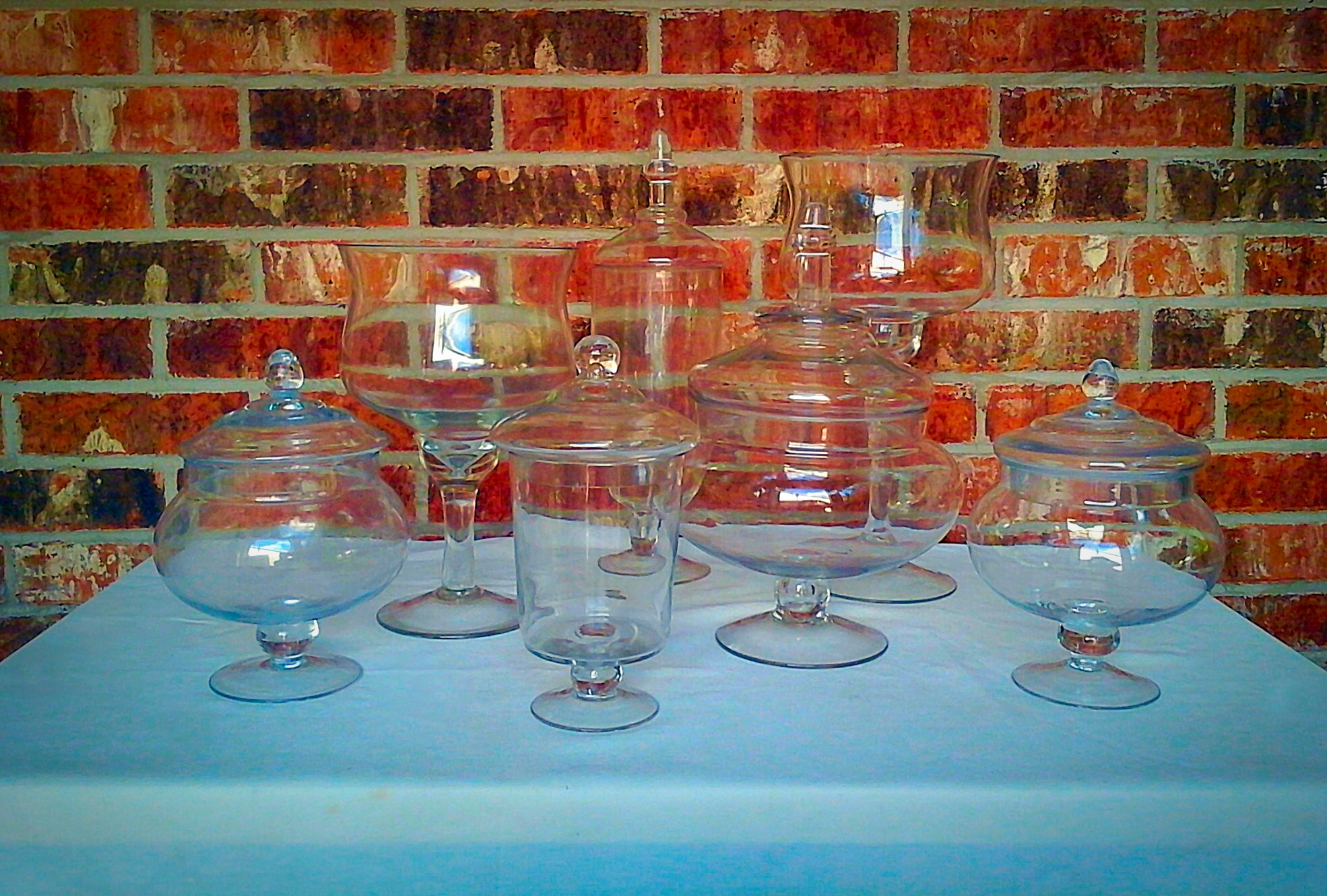 Fancy Apothecaries and Candy Jars