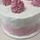 "Thumbnail: Rustic Vanilla Raspberry 8"" Cake"